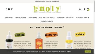 Site internet de Le Moly