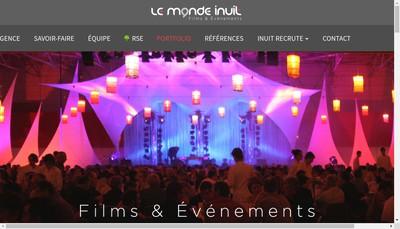 Site internet de Le Monde Inuit