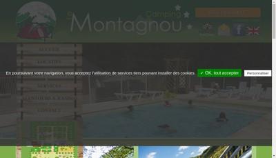 Site internet de CAMPING LE MONTAGNOU