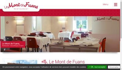 Site internet de Auberge du Mont de Fuans