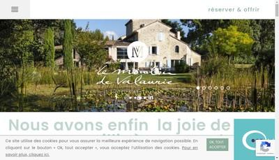 Site internet de Le Moulin de Valaurie