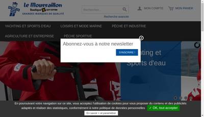 Site internet de Le Moussaillon de Concarneau