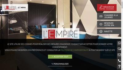 Site internet de Lempire