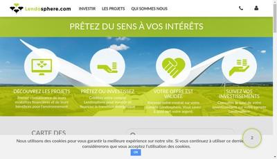 Site internet de Lendosphere