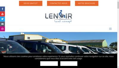Site internet de Lenoir Handi Concept