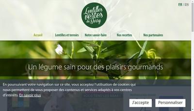 Site internet de Cibele