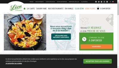 Site internet de Leon