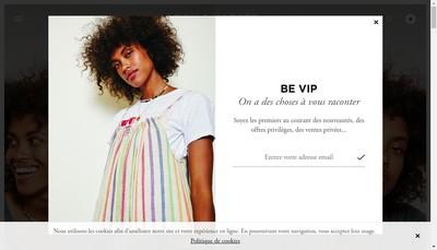 Site internet de Leon & Harper