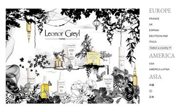 Site internet de Leonor