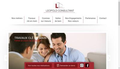 Site internet de Leopold Consultant