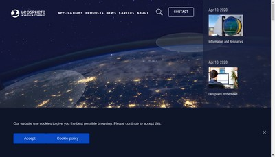 Site internet de Leosphere