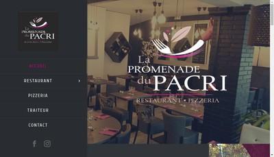 Site internet de La Promenade de Pacri