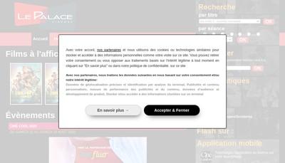 Site internet de Les Ecrans de Mulhouse