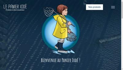 Site internet de Le Panier Iode