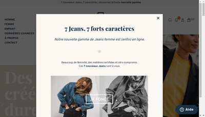 Site internet de Le Pantalon