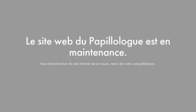 Site internet de Le Papillologue