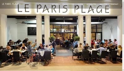 Site internet de Le Paris Plage