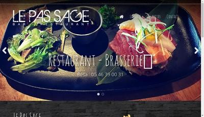 Site internet de Pas ' Sage
