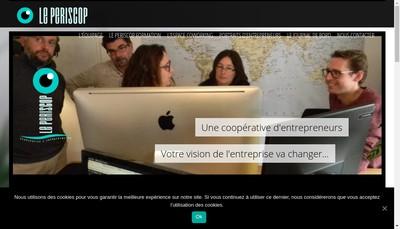 Site internet de Le Periscop