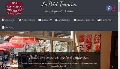 Site internet de Le Petit Tonneau