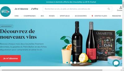 Site internet de Le Petit Ballon