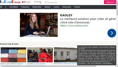 Site internet de Le Petit Bazar