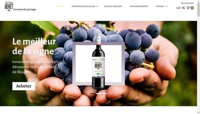 Site internet de Le Petit Beret