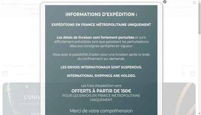 Site internet de Le Petit Florilege