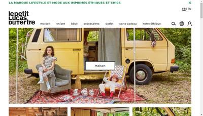 Site internet de Lucas du Tertre