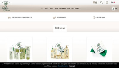 Site internet de La Phoceenne de Cosmetique SA