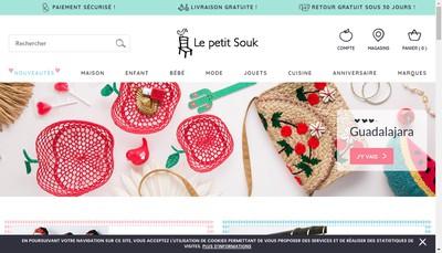 Site internet de Le Petit Souk