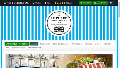 Site internet de Le Phare