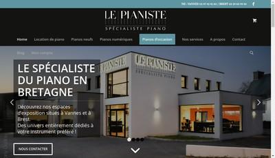 Site internet de Le Pianiste Brest