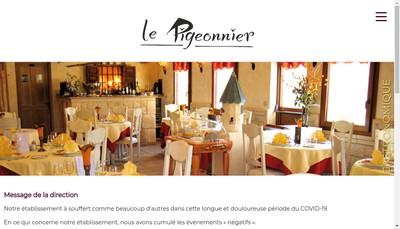 Site internet de Le Pigeonnier de la Mare Villette