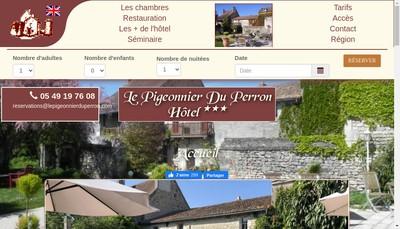 Site internet de Le Pigeonnier du Perron