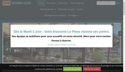 Site internet de Le Plana