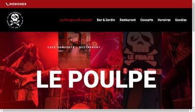 Site internet de Le Poulpe