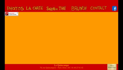 Site internet de Le Quincampe