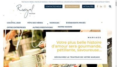 Site internet de Le Regal