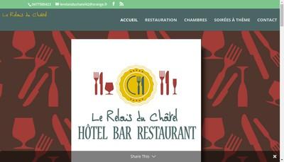 Site internet de Le Relais du Chatel