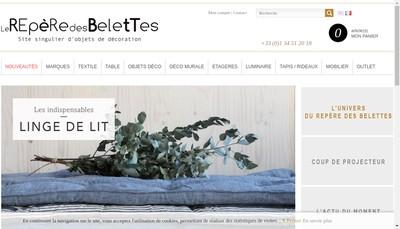 Site internet de Le Repere des Belettes