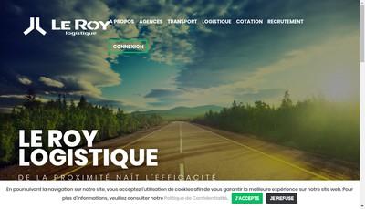 Site internet de Groupe le Roy
