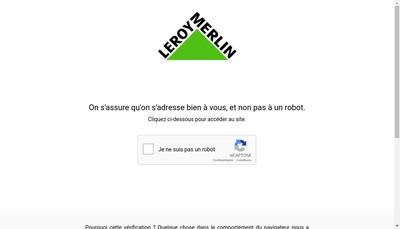 Site internet de Leroy Merlin France
