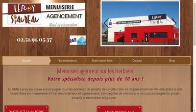 Site internet de Leroy - Siaudeau