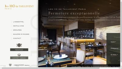 Site internet de L'Angle du Faubourg