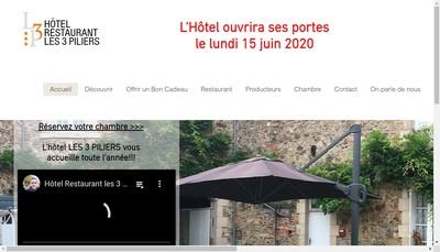Site internet de Les Trois Piliers