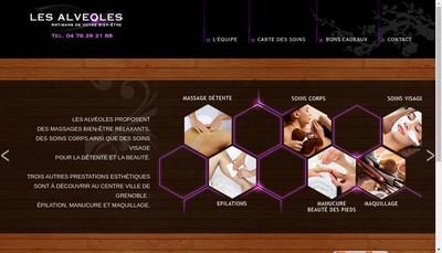 Site internet de Les Alveoles