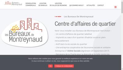 Site internet de Les Bureaux de Montreynaud