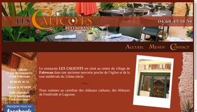 Site internet de Les Calicots