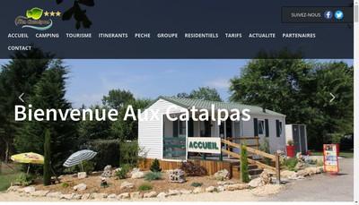 Site internet de Les Catalpas